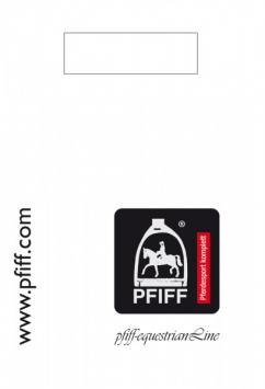PFIFF- plastic reclametas groot